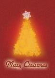 Kerstkaartachtergrond vector illustratie