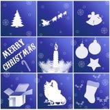 Kerstkaarten Stock Fotografie