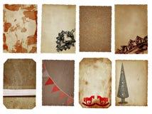Kerstkaarten Royalty-vrije Stock Fotografie
