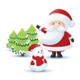 Kerstman Stock Fotografie