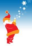 Kerstman vector illustratie