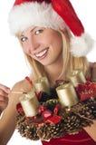 Kerstman stock foto