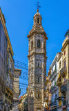 Kerstman Catalina Church, Valencia royalty-vrije stock afbeelding