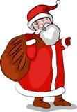 Kerstman Claus2 Stock Fotografie