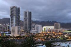Kerstman Cruz DE Tenerife royalty-vrije stock afbeeldingen