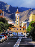 Kerstman Cruz DE Tenerife royalty-vrije stock foto