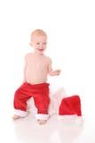 Kerstman Kid1 stock fotografie