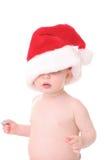 Kerstman kid3 royalty-vrije stock foto