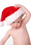 Kerstman kid4 royalty-vrije stock afbeelding