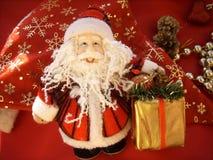 Kerstman Klaus Stock Foto's