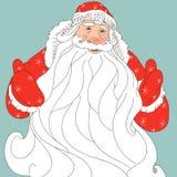 Kerstman Klaus Stock Afbeelding