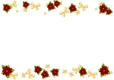 Kerstman Klaus, hemel, vorst, zak Royalty-vrije Stock Foto