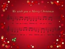 Kerstman Klaus, hemel, vorst, zak Stock Afbeeldingen