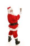 Kerstman met Volledig Penseel Stock Fotografie