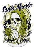 Kerstman muerte Stock Afbeeldingen