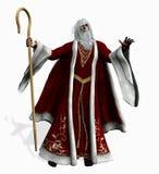 Kerstman - omvat het knippen weg royalty-vrije illustratie