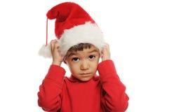 Kerstman` s dwerg Royalty-vrije Stock Foto
