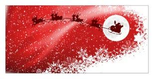 Kerstman sleight Royalty-vrije Stock Afbeelding