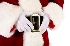 Kerstman: Van de de Handenholding van de kerstman de Riemgesp Stock Afbeeldingen