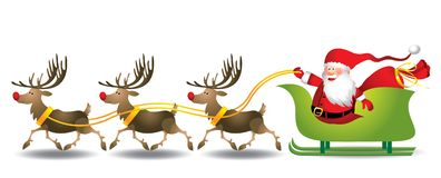 Kerstmanar - Illustratie Royalty-vrije Stock Foto's