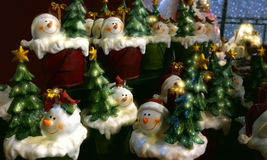 Kerstmandecoratie Stock Afbeeldingen