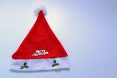 Kerstmanhoed stock afbeeldingen