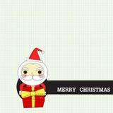 Kerstmanlevering Stock Afbeelding