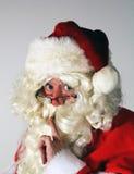 Kerstmanportret Royalty-vrije Stock Afbeelding