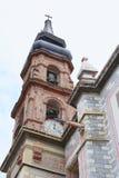 Kerstmanrosa DE Viterbo kerk III stock afbeeldingen