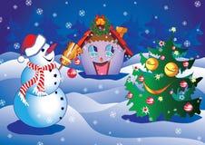 Kerstmis. Royalty-vrije Stock Afbeeldingen