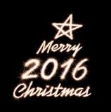Kerstmis 2016 Royalty-vrije Stock Afbeeldingen