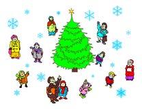 Kerstmis royalty-vrije illustratie
