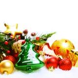 Kerstmis abstracte achtergrond voor de wintervakantie Stock Afbeelding