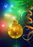 Kerstmis-achtergrond Stock Afbeelding