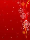 Kerstmis achtergrond-4 Stock Afbeelding