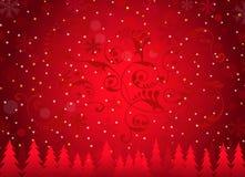 Kerstmis achtergrond-Vector Royalty-vrije Stock Foto's