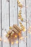 Kerstmis achtergrondkader Royalty-vrije Stock Foto's