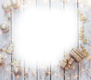 Kerstmis achtergrondkader Royalty-vrije Stock Fotografie