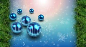Kerstmis achtergrondrood Royalty-vrije Stock Foto