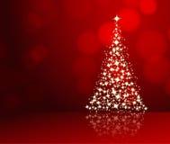 Kerstmis achtergrondrood vector illustratie