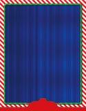 Kerstmis Als thema gehade Vliegerachtergrond Royalty-vrije Stock Foto