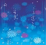Kerstmis & nieuwe jaarachtergrond Stock Foto's