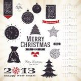 Kerstmis & Nieuwjaar Stock Foto's