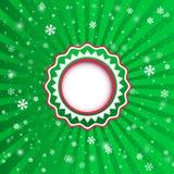 Kerstmis applique achtergrond. Vectorillustratie voor uw desi Royalty-vrije Stock Foto's
