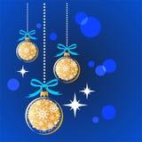 Kerstmis ballen Stock Afbeelding