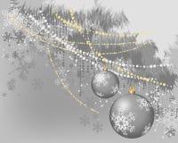 Kerstmis banner_3 royalty-vrije illustratie
