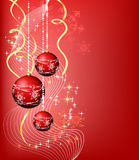 Kerstmis banner_4 stock illustratie