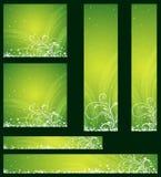 Kerstmis banners, vector Royalty-vrije Stock Afbeelding