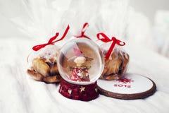 Kerstmis behandelt. Royalty-vrije Stock Foto's