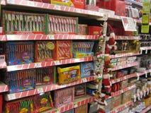 Kerstmis behandelt Stock Afbeeldingen